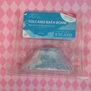 Village Naturals Volcano Light-able Floating Bath